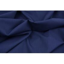 Cotton 100% plain navy cotton PREMIUM