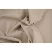 Cotton 100% plain beige cotton PREMIUM