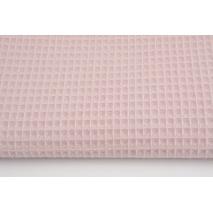 Cotton 100% waffle powder pink Q