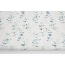 Premium 100% cotton eucalyptus in shades of blue, DP