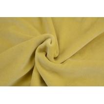 Dzianina welur, zgaszony żółty