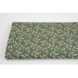 Cotton 100%, rowan on a green background, GOTS