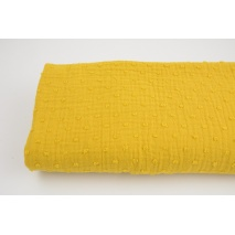Plumetis cotton gauze, mustard