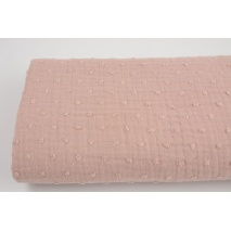 Plumetis cotton gauze, dusty pink
