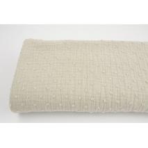 Plumetis cotton gauze, sand