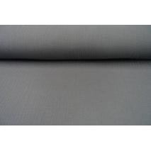 Muślin bawełniany, ciemny szary 2 II jakość