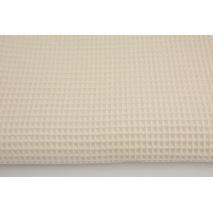 Bawełna 100%, wafel, naturalny CZ 160 cm