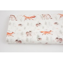 Premium 100% cotton deer foxes  DP