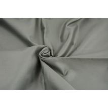 Cotton 100% plain sateen dark gray