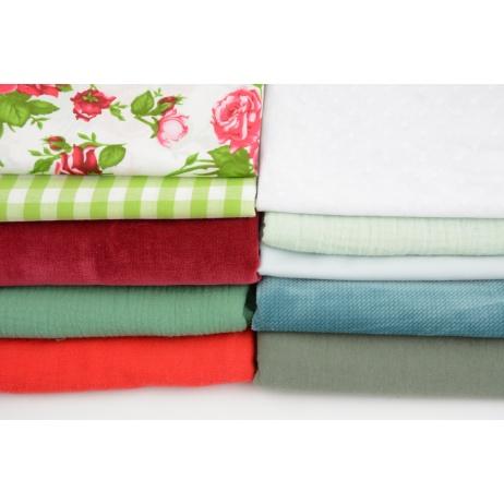 Fabric bundles No. 326 AB 40cm