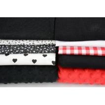Fabric bundles No. 341 AB 30cm