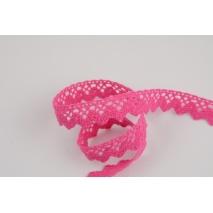Cotton lace 15mm in a fuchsia color No.2