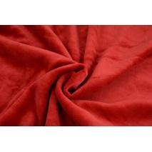 Knitwear velour, red