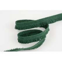 Cotton fringes 15mm bottle green