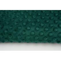 Dimple dot fleece minky bottle green