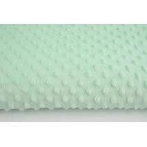 Dimple dot fleece minky mint