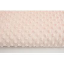 Dimple dot fleece minky whitening pink