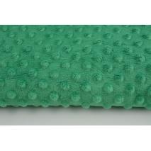 Dimple dot fleece minky green