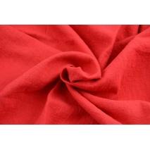 100% linen, red (stonewashed) K