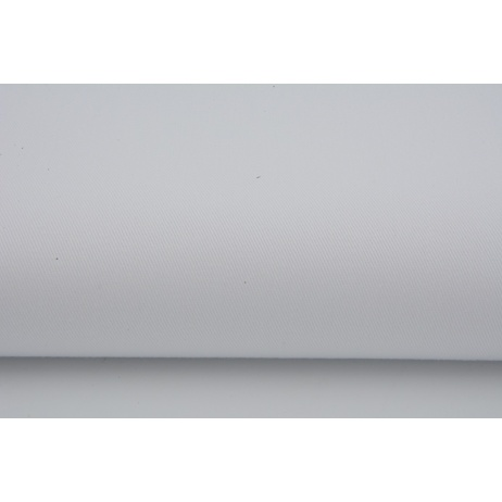 Cotton drill plain white 100% cotton