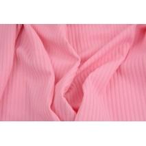 Rib knit fabric pink