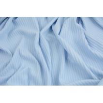 Rib knit fabric, light blue