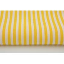 Bawełna 100% żółte paski 5mm