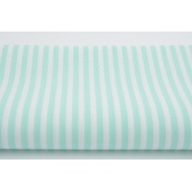 Cotton 100% 5mm mint stripes