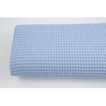 Cotton 100% waffle blue Q