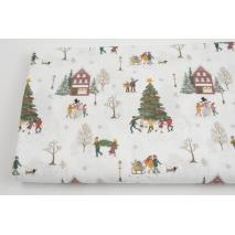 Cotton 100%, Christmas Town GOTS
