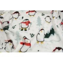 Polar, pingwinki na białym tle