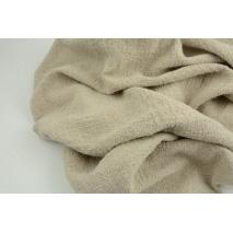 100% linen, natural crepe