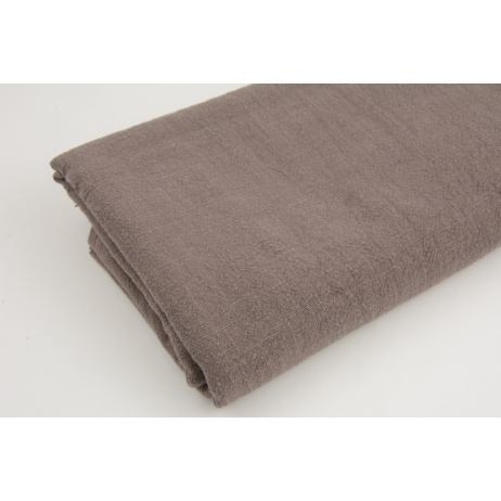 100% linen, mocha (stonewashed) K