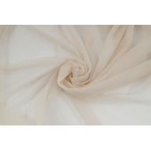 Soft tulle, beige