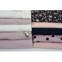Fabric bundles No. 398 AB 20cm