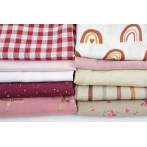 Fabric bundles No. 404 AB 20cm