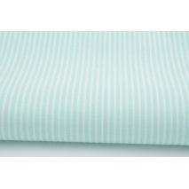 Cotton 100% mint stripes 2mm