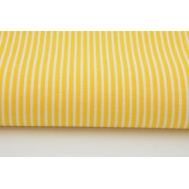 Cotton 100% yellow stripes 2mm
