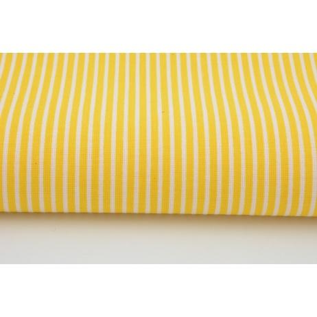 Bawełna żółte paski 2mm
