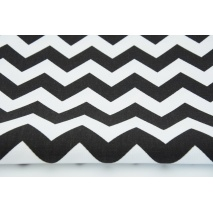 HD chevron zygzak czarny - HOME DECOR