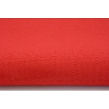 HOME DECOR plain red 100% cotton