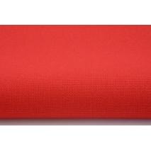 HOME DECOR plain red 100% cotton
