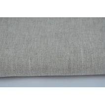 100% plain linen in natural color