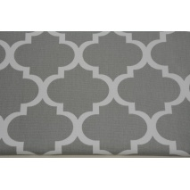 HOME DECOR moroccan trellis on a gray background