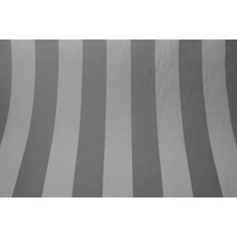 Cotton 100% turquoise stripes 8cm