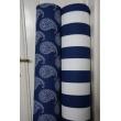 Cotton 100% gray stripes 8cm