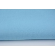 Cotton 100% plain subdued turquoise