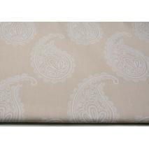 Bawełna 100% łezki na koronkowo-różowym tle