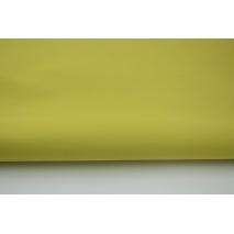 Drill, 100% cotton fabric in a plain lime colour