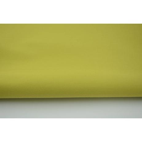 Drelich, bawełna 100%, limonka jednobarwna 280g/m2